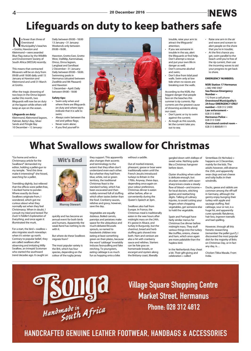 The Village NEWS 20 December 2016 by The Village NEWS - issuu
