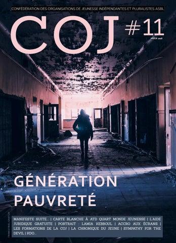 COJ # 11 - Génération pauvreté by cojeunesse - issuu