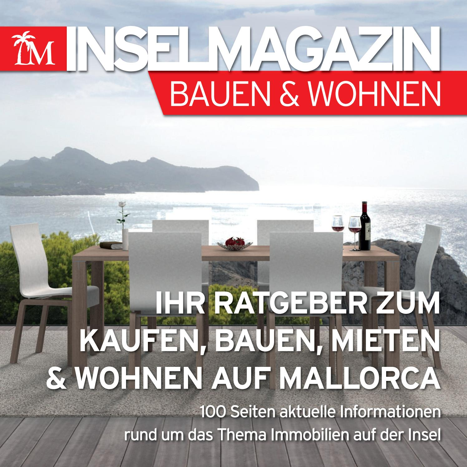 das inselmagazin bauen wohnen by die inselzeitung mallorca online issuu. Black Bedroom Furniture Sets. Home Design Ideas