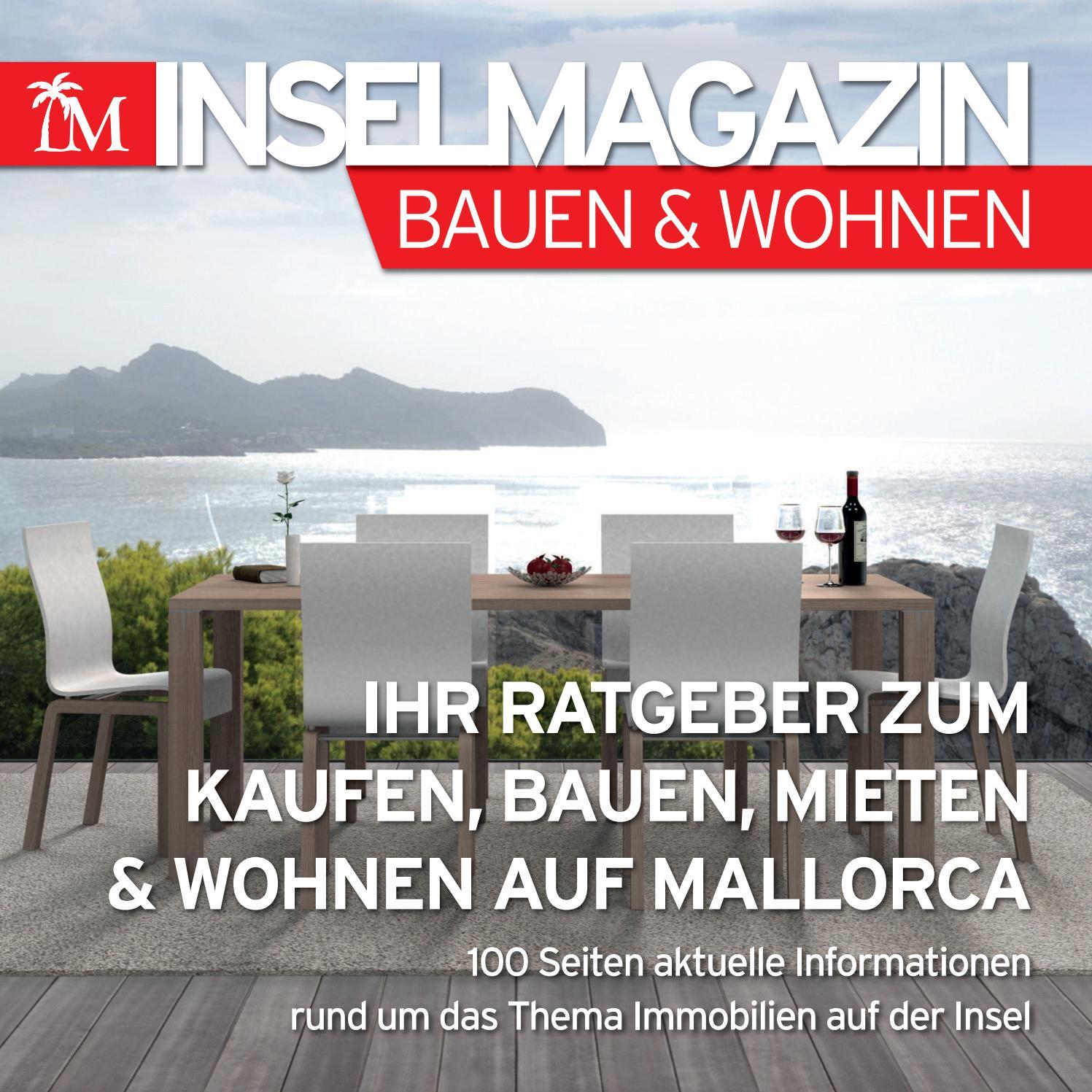 das inselmagazin bauen wohnen by die inselzeitung mallorca. Black Bedroom Furniture Sets. Home Design Ideas