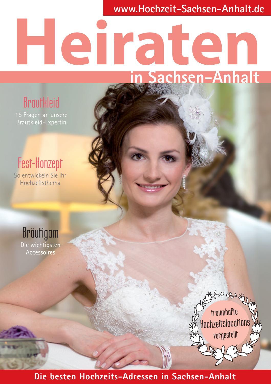Heiraten in Sachsen-Anhalt 2017 by Werbung & Satz Fendler - issuu