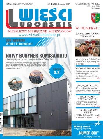 e8c760c01135a Wieści Lubońskie 2015 11 by WiesciLubonskie - issuu