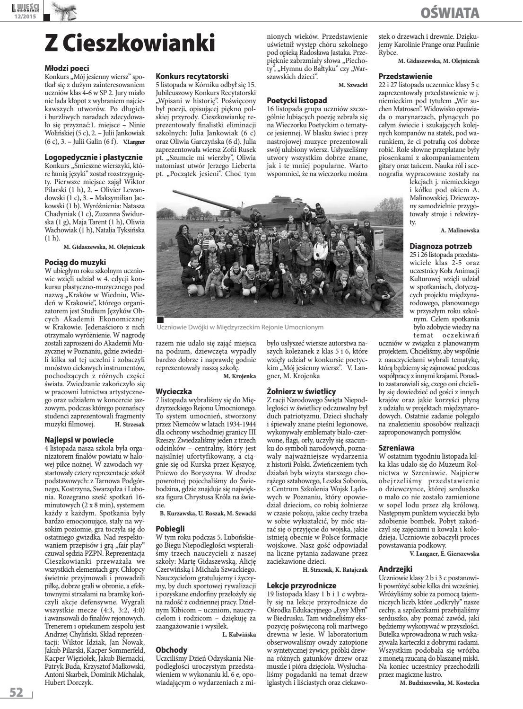 Wieści Lubońskie 201512 By Wiescilubonskie Issuu