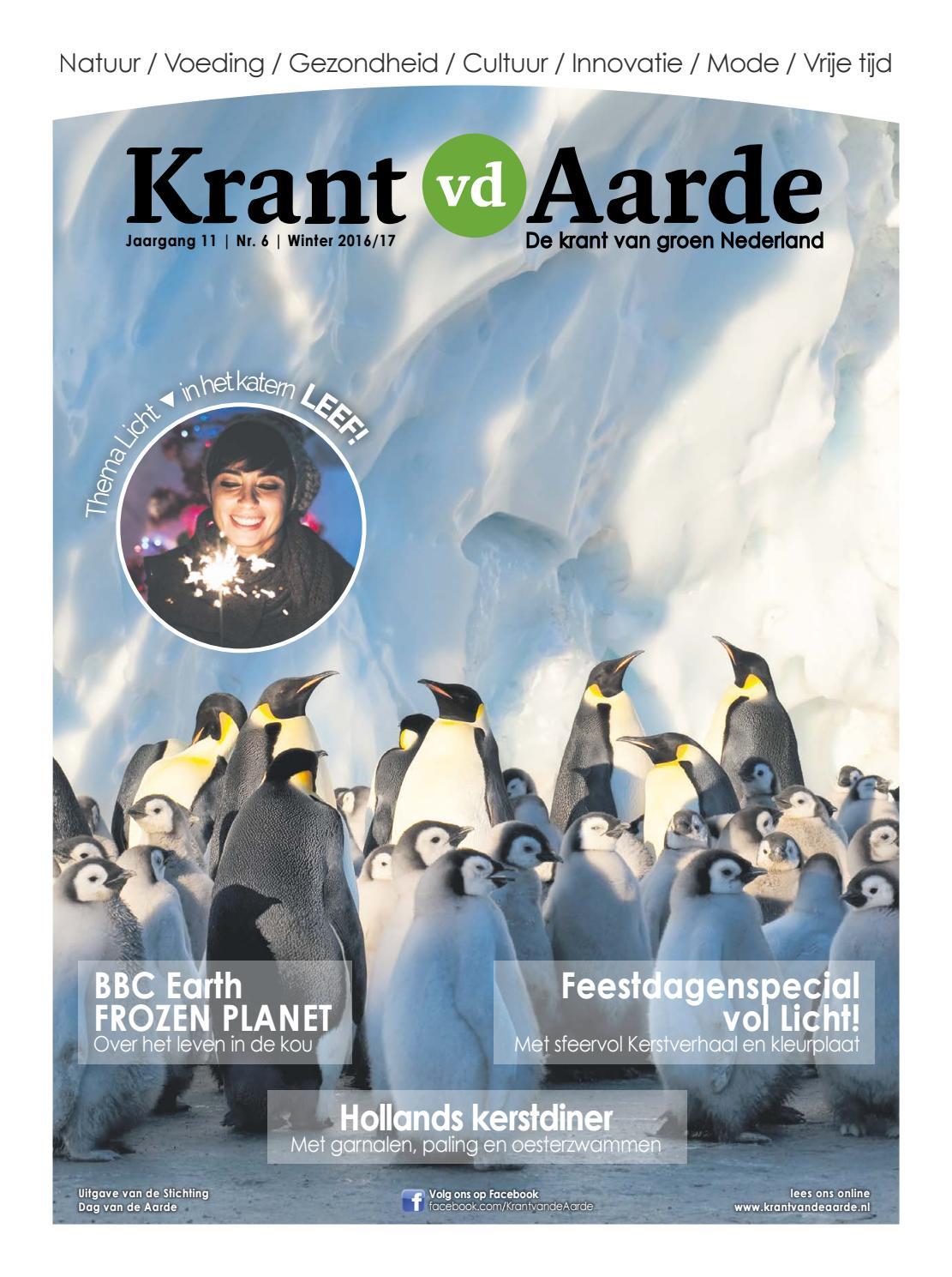 Kvda Winter2016 2017 By Krant Van De Aarde Issuu