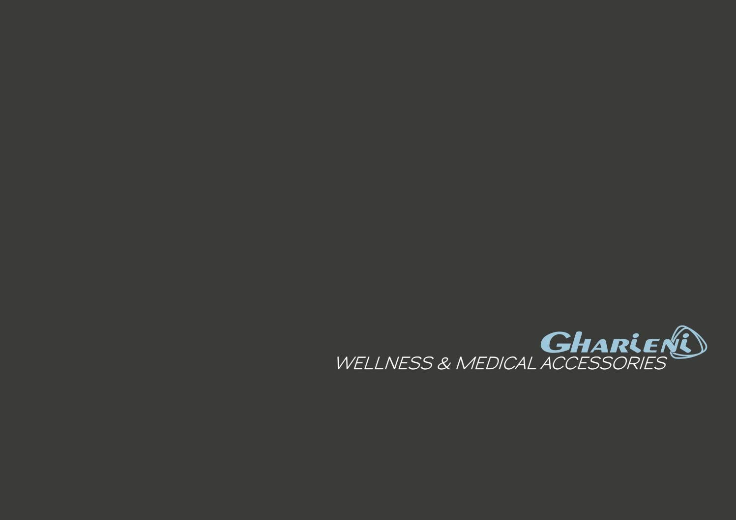 Gharieni wellness & medical accessories by CARTECO DESIGN