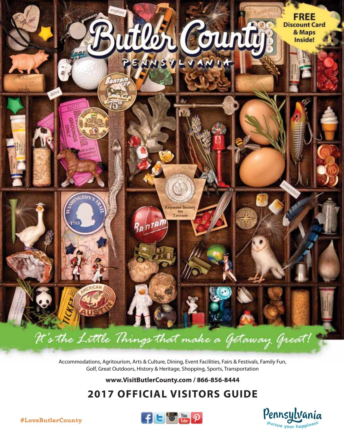2017 butler county pa official visitors guide by visit butler county 2017 butler county pa official visitors guide by visit butler county issuu fandeluxe Images