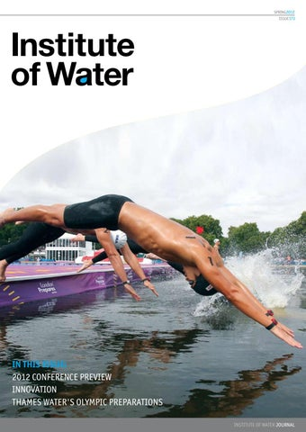 9e6240bab2d01 Institute of Water Magazine - Spring Edition 2012 by Institute of ...