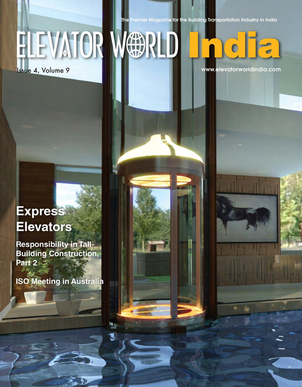 Elevator World India 4th Quarter By Issuu Wiring Harness Meaning In Tamil