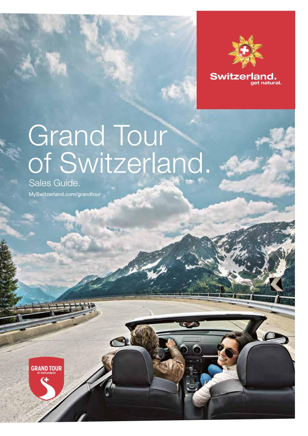 Grand Tour Of Europe S Greatest: Grand Tour Of Switzerland. Sales Guide (SW10031.1002en) By