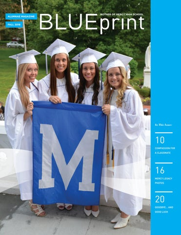 Blueprint fall 2016 by mother of mercy hs issuu page 1 malvernweather Images