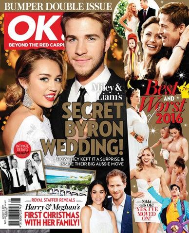 2d8f3ef36d0f Best Worst SECRET of 2016 BYRON WEDDING! Miley   Liam s