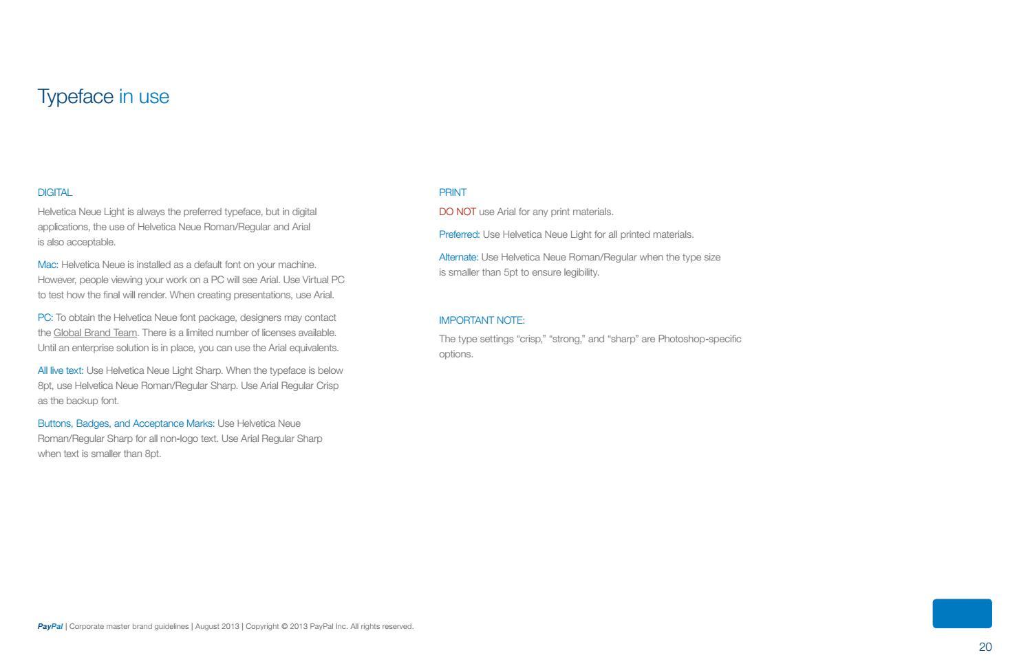 PayPal Brand Guidelines by Lukasz Kulakowski - issuu