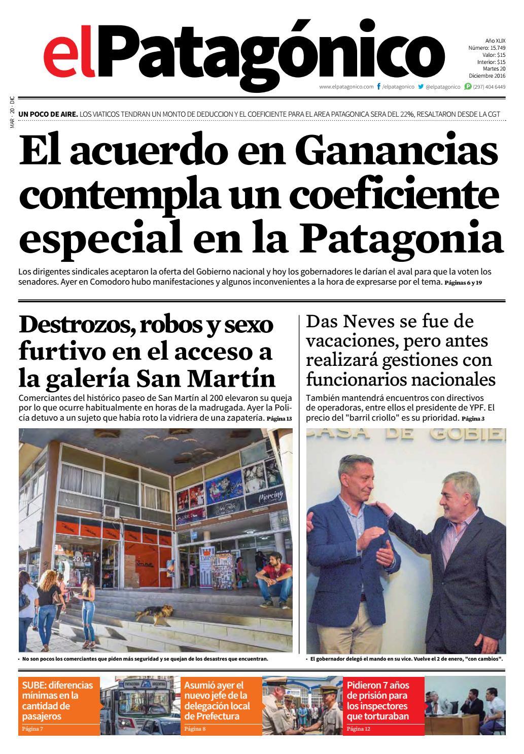2a930f0d5e36 edicion234119122016.pdf by El Patagonico - issuu