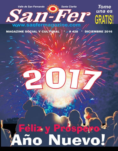 San fer magazine diciembre 2016 by publicidad sin fronteras issuu page 1 malvernweather Image collections