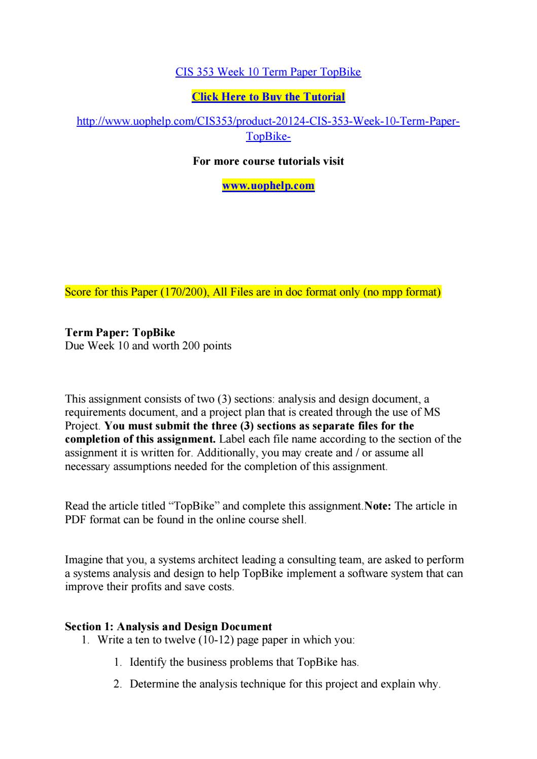 term paper pdf