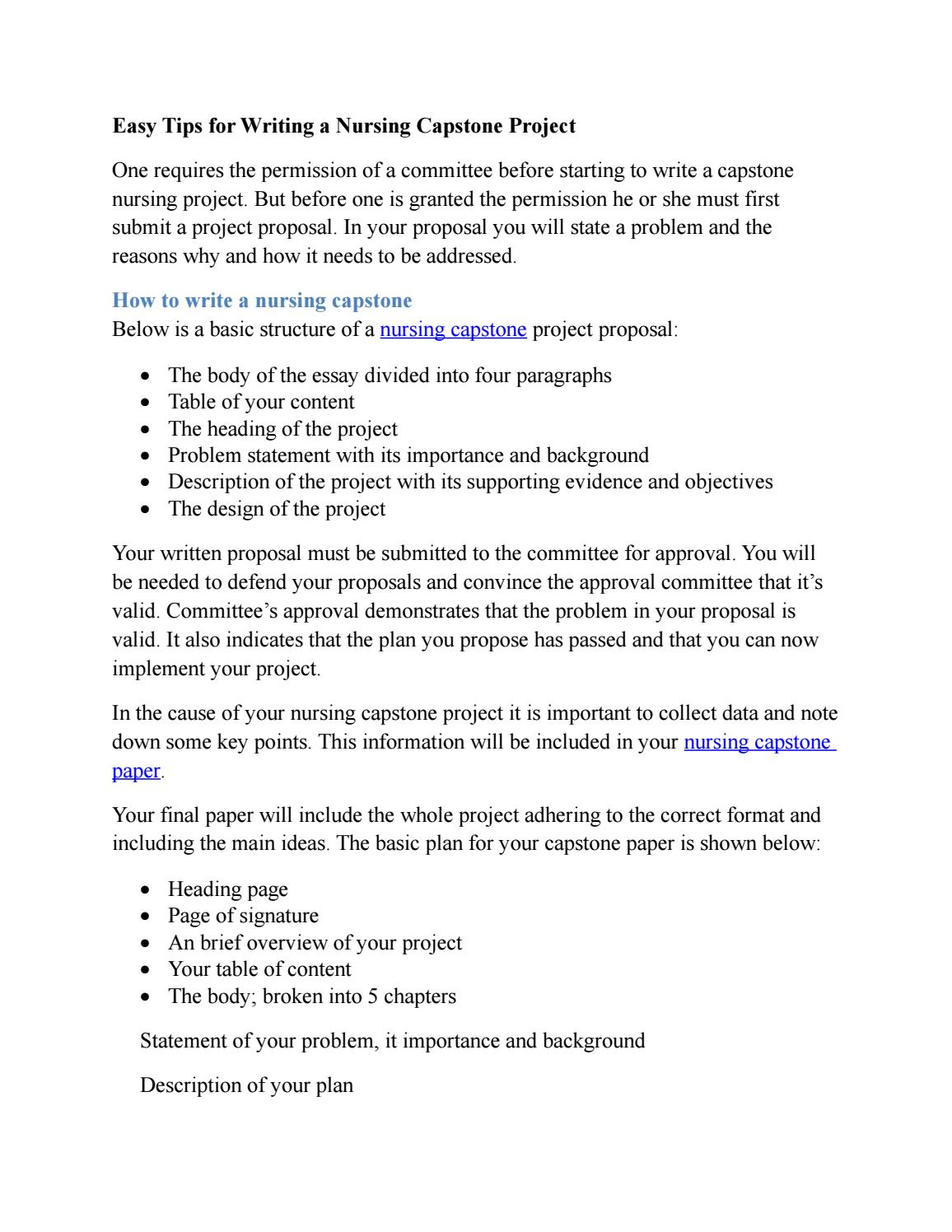 importance of writing a project proposal