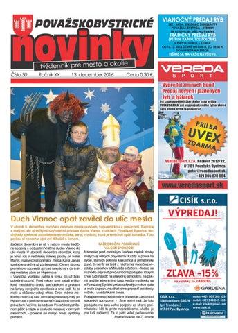 Považskobystrické novinky č. 50 2016 by Považskobystrické novinky ... 4b0afde4453