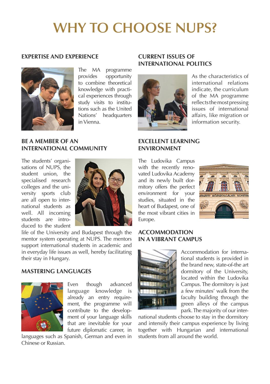 International Public Service Relations MA by NUPS