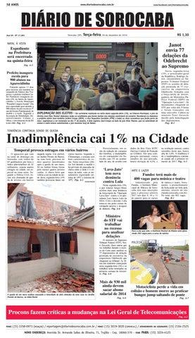 Edição de 20 de dezembro de 2016 by DIÁRIO DE SOROCABA - issuu f4221e4e9d560