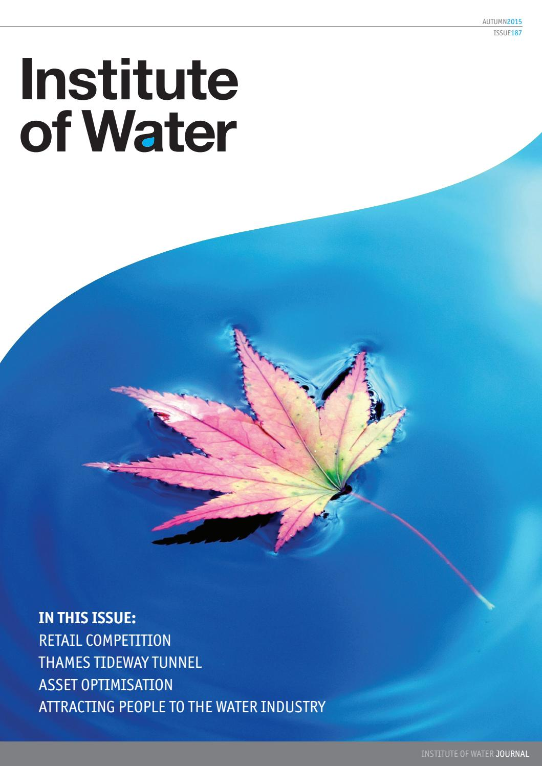 Institute Of Water Magazine Autumn Edition 2015 By Navy Electricity And Electronics Training Series Neets Module 1 Issuu