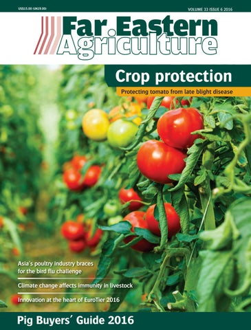 Far Eastern Agriculture Issue 6 2016 by Alain Charles Publishing - issuu