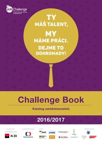 e965e62ba8 Katalog Challenge Book 2016 by Kariérní centrum Masarykovy ...