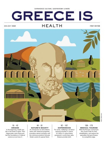 Greece is health 2016 2017 by greece is issuu greece is experience culture gastronomy more stopboris Image collections