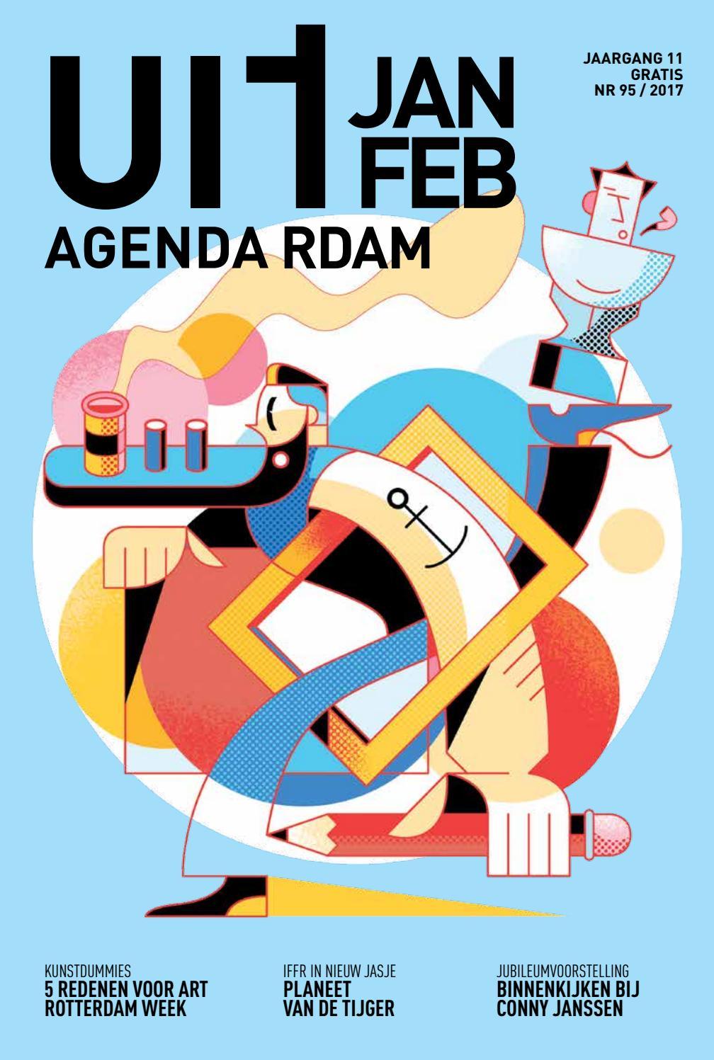 Uitagenda magazine januari februari 2017 by rotterdam for Uit agenda rotterdam