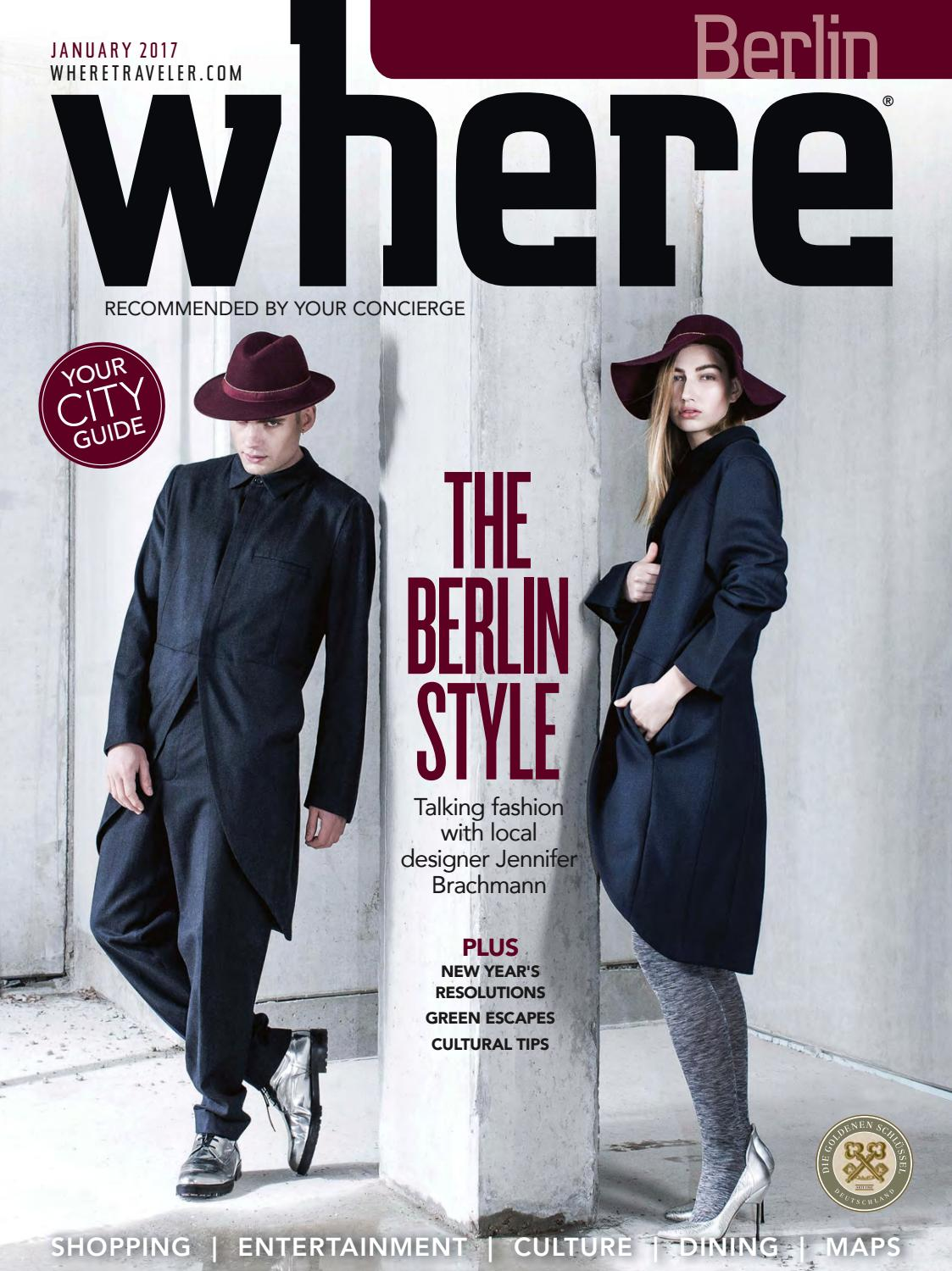 7d539dd554c Where Berlin January 2017 by Morris Media Network - issuu