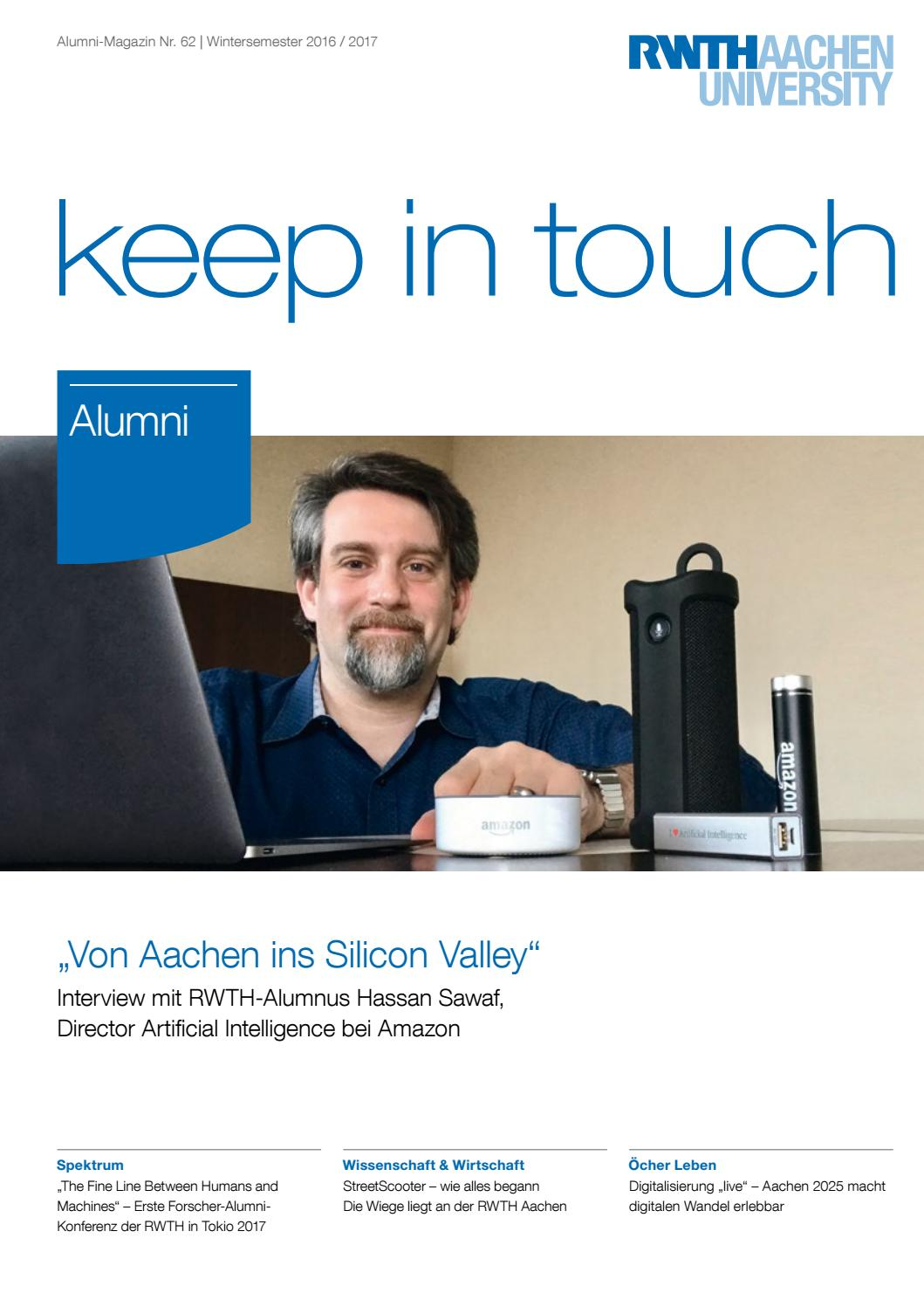 how to say keep in touch