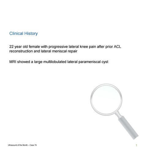 HSS Ultrasound Case 74