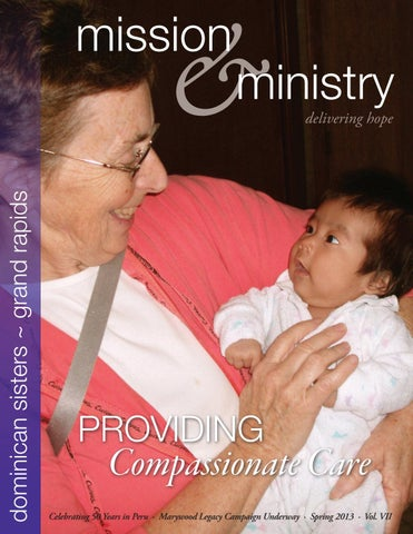Mission Ministry Spring 2013 By Dominican Sisters Grand Rapids Issuu