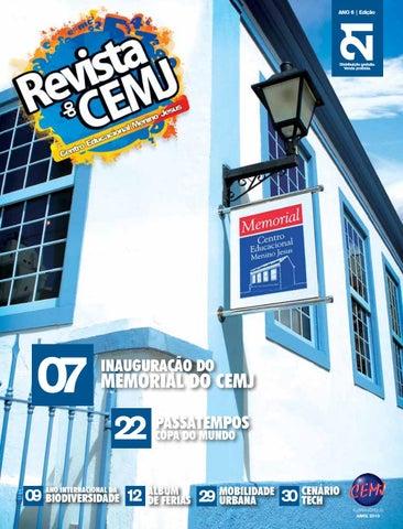 Revista do CEMJ 21 by Centro Educacional Menino Jesus - issuu a3a47a9e5af4e