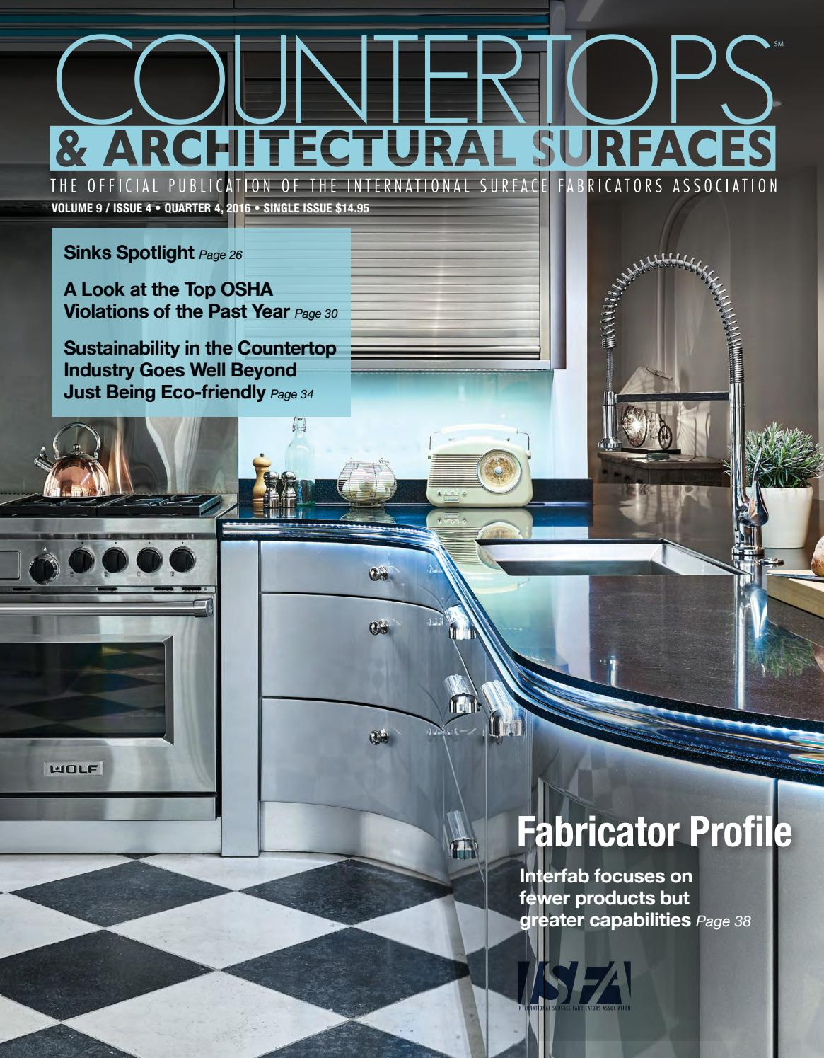 ISFA\'s Countertops & Architectural Surfaces Vol. 9, Issue 4 - Q4 ...