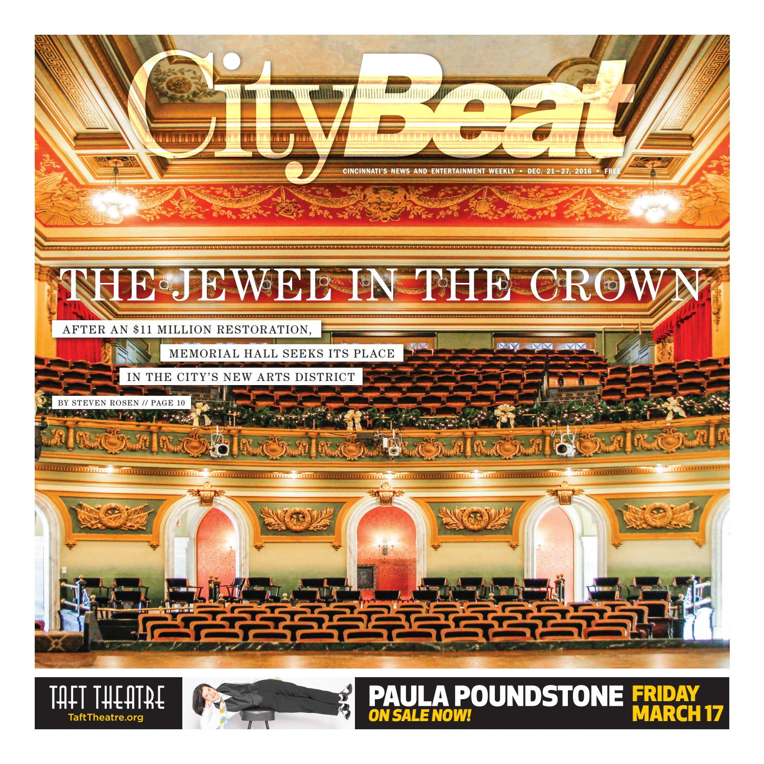 CityBeat Dec 21 2016 by Cincinnati CityBeat issuu