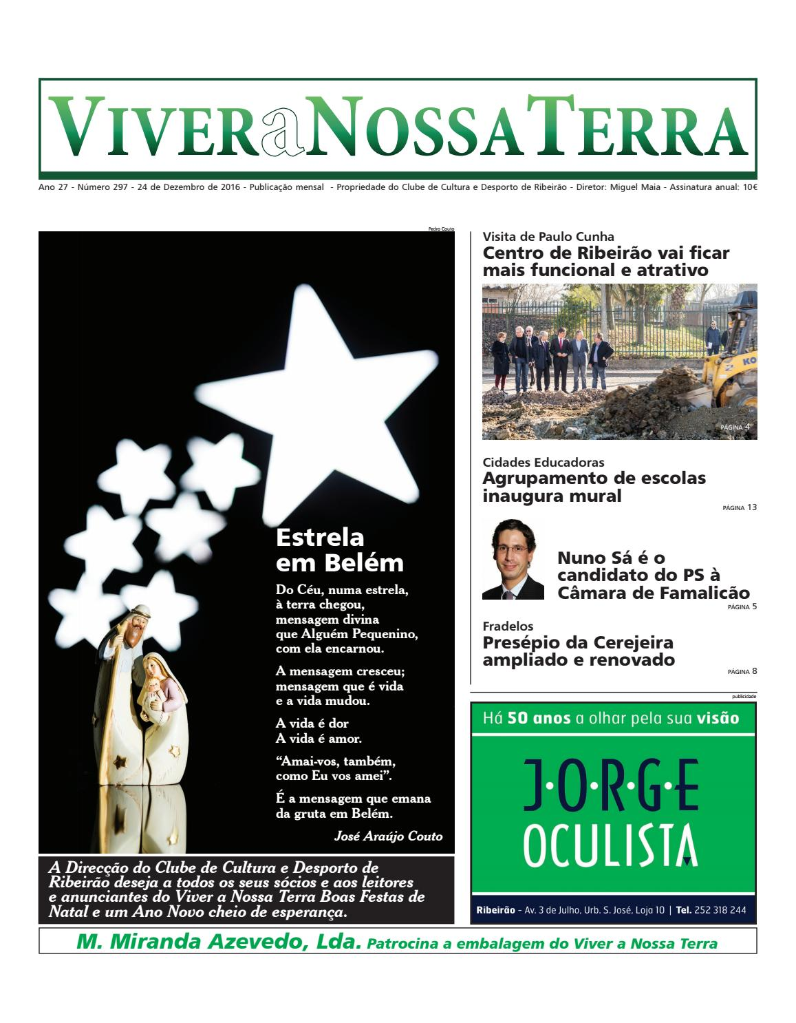 Viver a Nossa Terra - Dezembro 2016 by Jornal Viver a Nossa Terra - issuu b7d7e89a6f