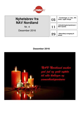 741cef23 Nav nordland nyhetsbrev nr 4 desember 2016 by Åshild-Janny Nordnes ...