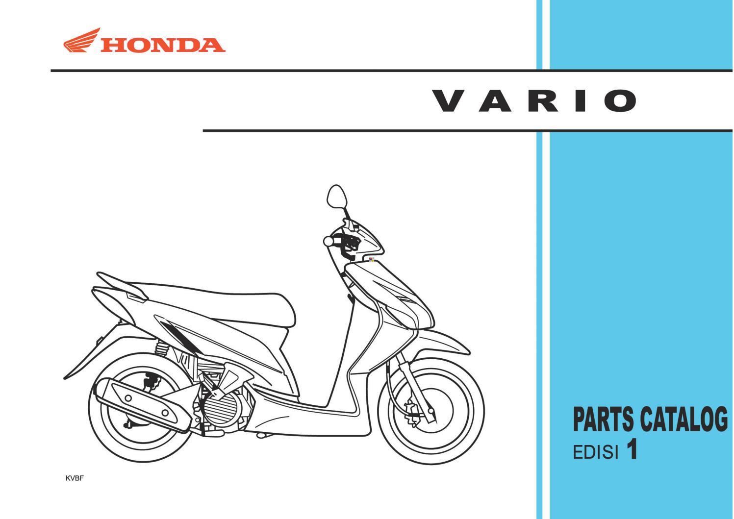 Vario 110 Cw By Heru Cahyo Purnomo Issuu Wiring Harness Clip 90016