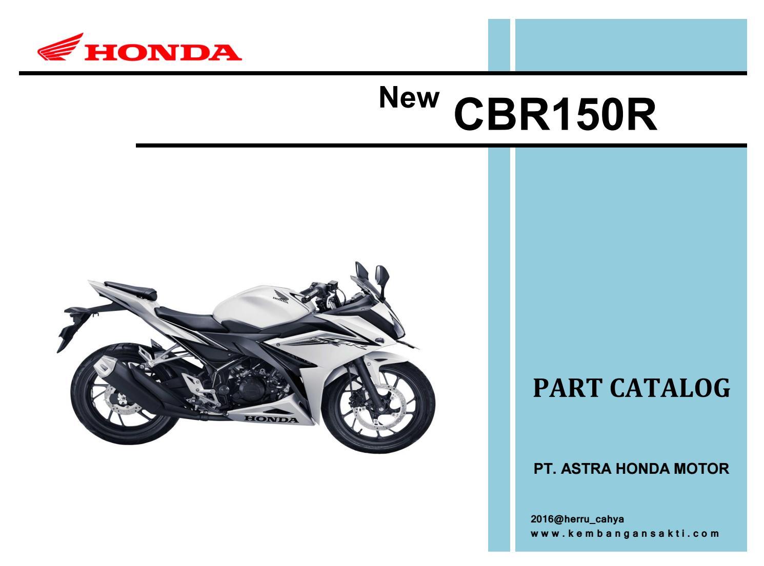 All New Cbr150r Kc91e By Heru Cahyo Purnomo Issuu Cover Shock Cbr 150r