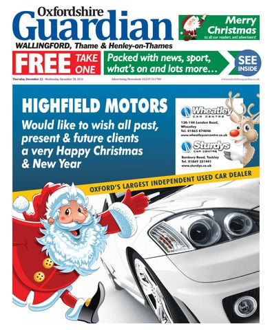 22 December 2016 Guardian Wallingford By Taylor Newspapers