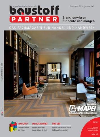 a4b2a2885903 baustoffPARTNER Dezember 2016 by SBM Verlag GmbH - issuu