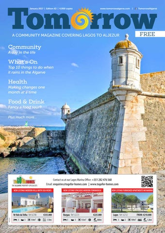 Tomorrow Lagos To Aljezur January 2017 Edition By Tomorrow