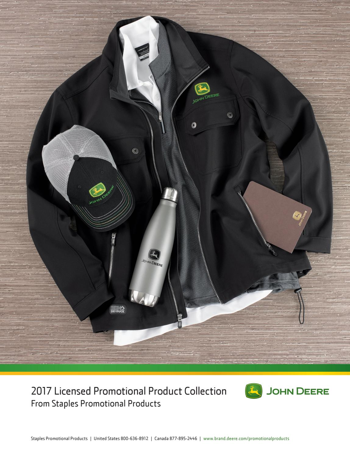1b5732ebd John Deere 2017 by Staples Promotional Products - issuu