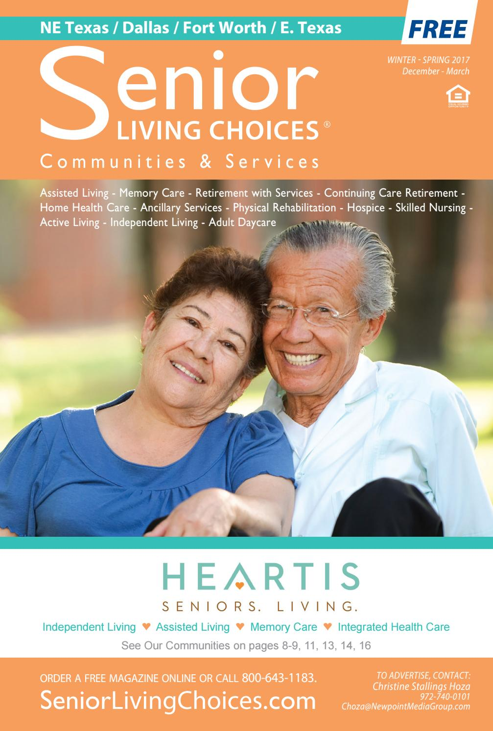 Senior Living Choices Dallas Fort Worth March 17 4 By