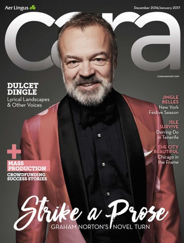 39e32430dc2 December 2016 January 2017 CARA Magazine December 2016 January 2017 Graham  Norton
