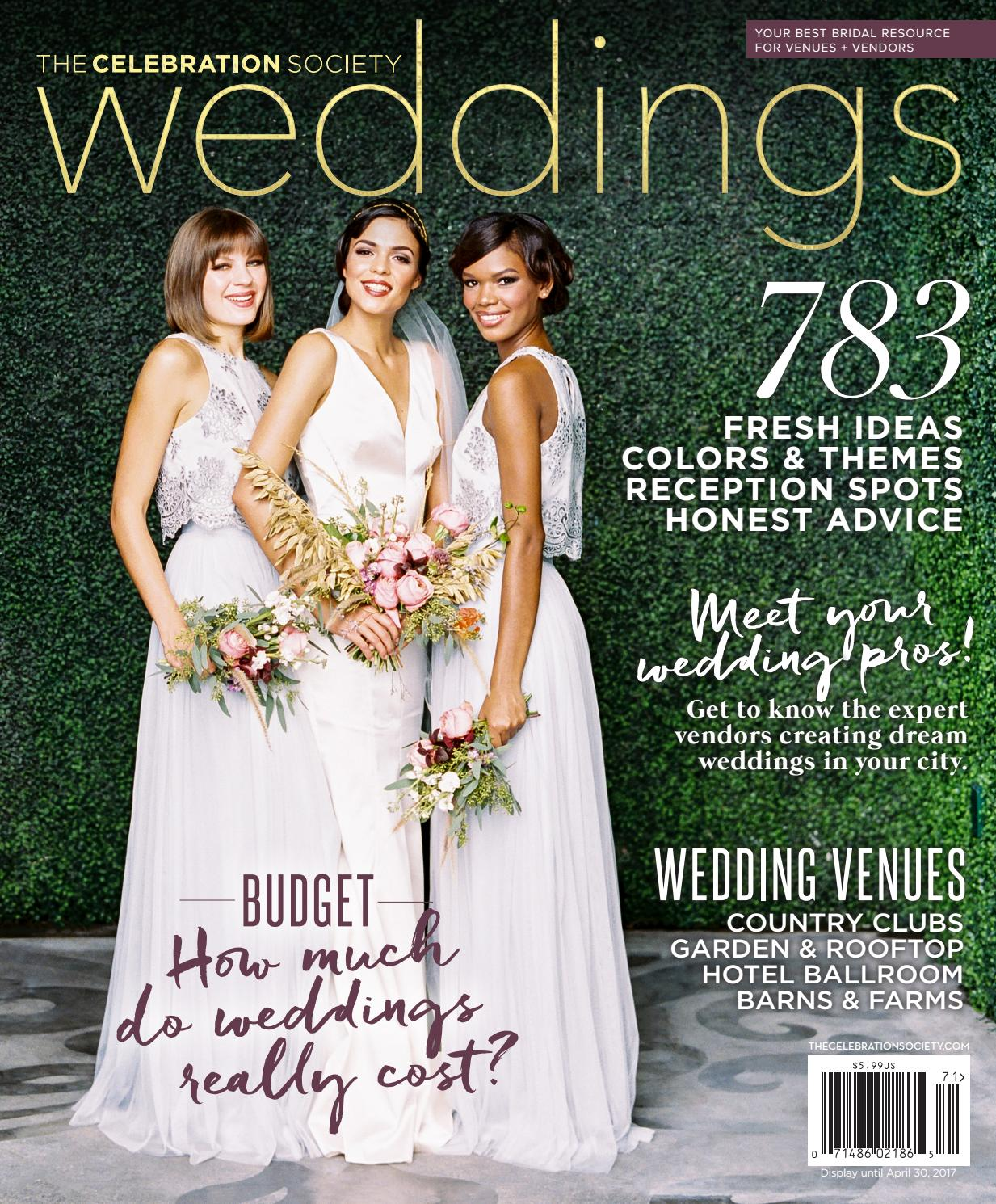 b37e208d57a The Celebration Society  Weddings 2017 by Occasions Media Group - issuu