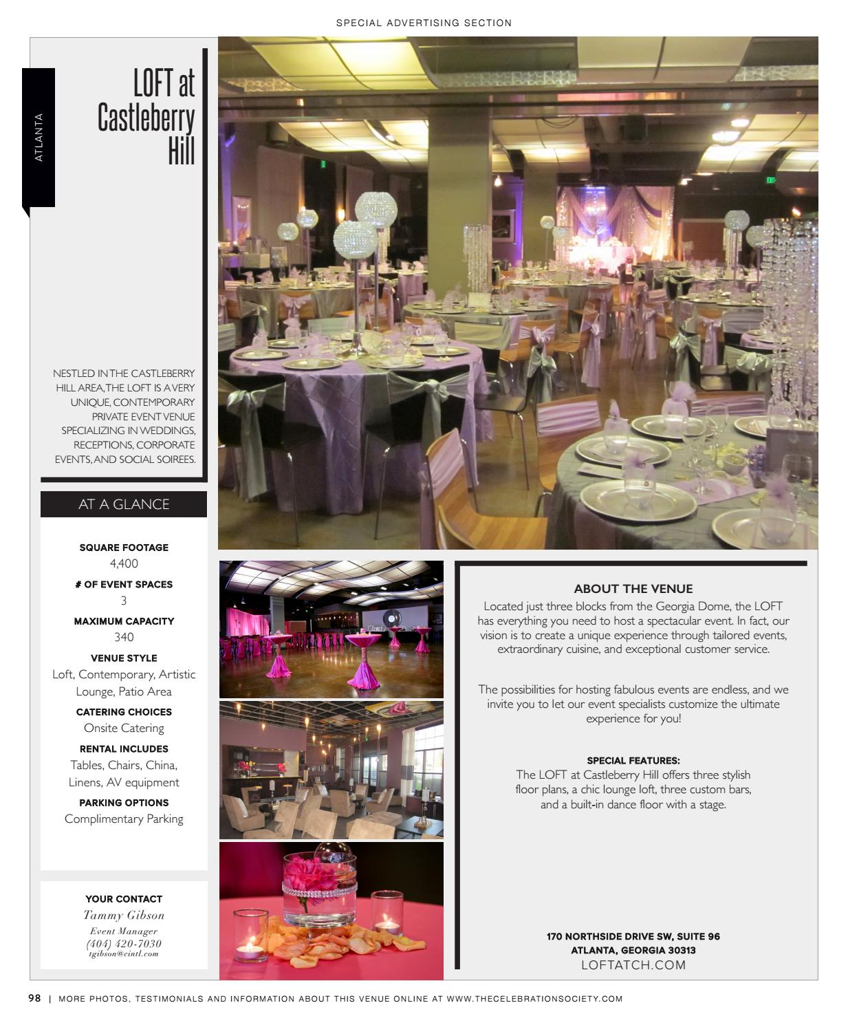 The Celebration Society Weddings 2017 By Occasions Media