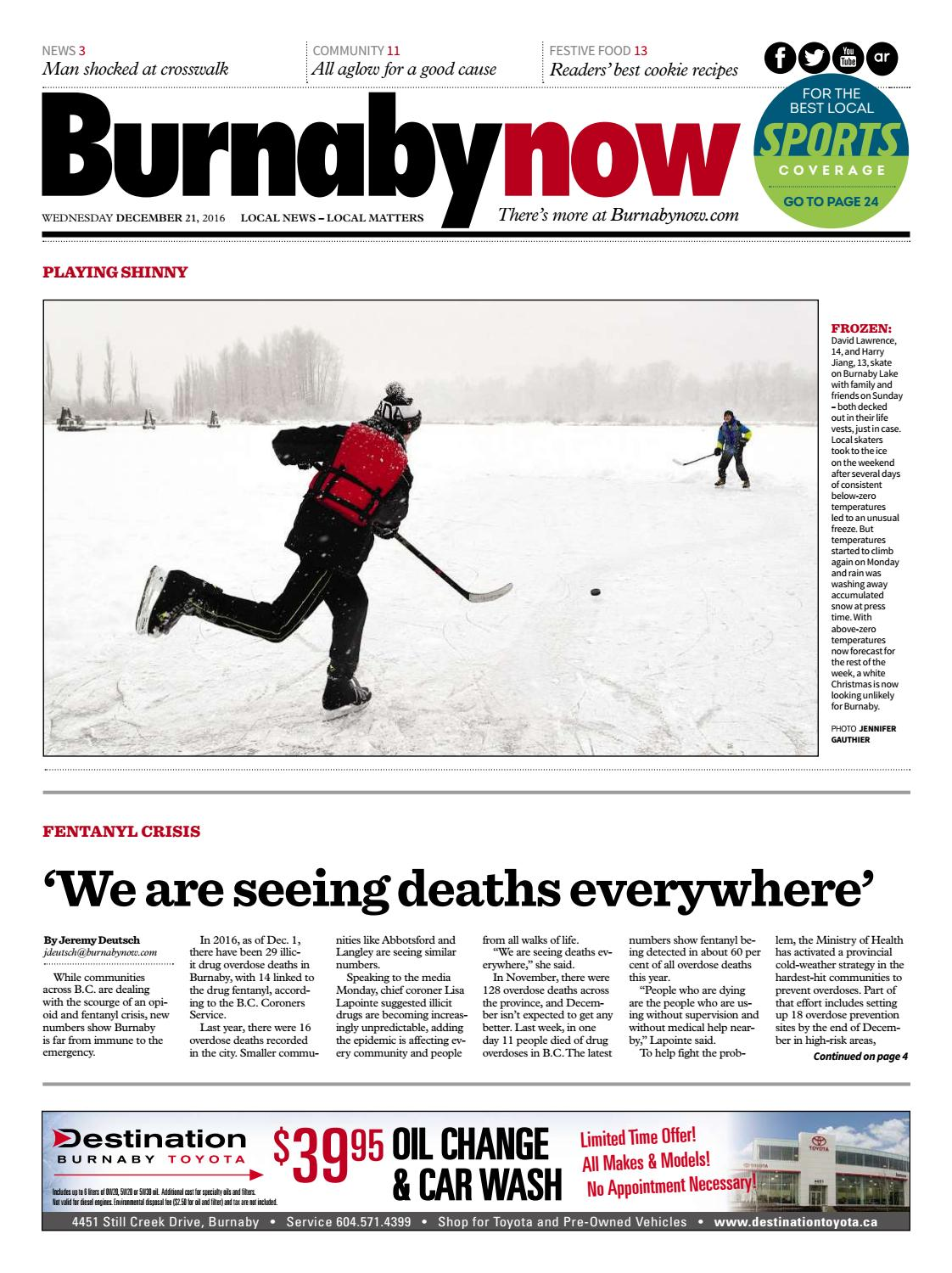 Burnaby Now December 21 2016 by Burnaby Now - issuu