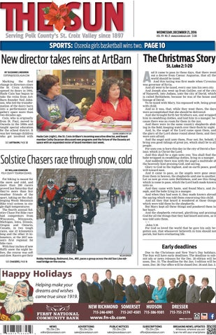 Polk County report January 21, 2015 dated