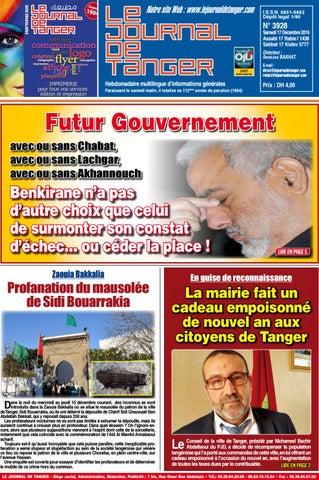 9f25f7021 Le journal de Tanger 17 décembre 2016 by Le Journal de Tanger - issuu